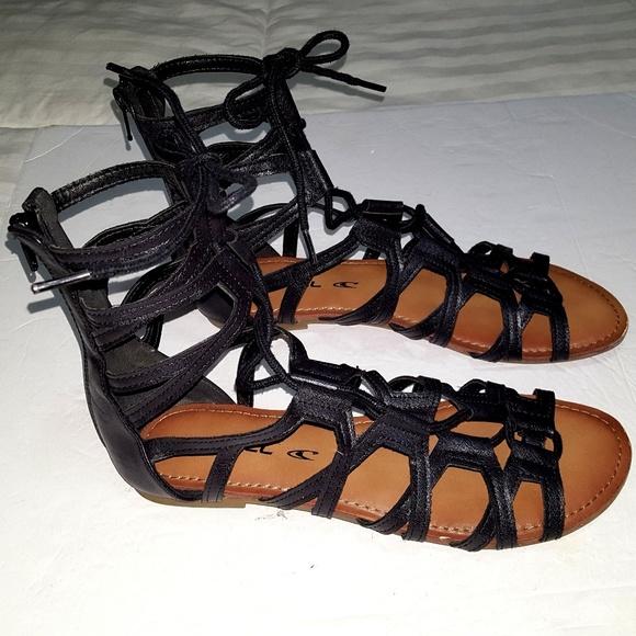 87a50beebd8 ... Flat Shoes Sandals Back Zipper 7. M 5b4c0b6b4ab633d80d49e7c8